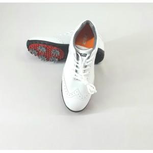 Кроссовки женские для гольфа PGM. Цвет: белые (р - 38)