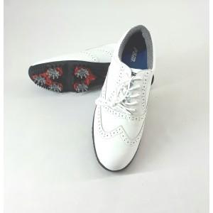 Кроссовки мужские для гольфа PGM. Цвет: белые