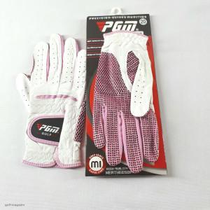 Перчатки женские PGM GOLF (кожаные)