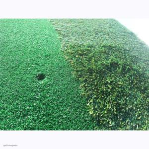 Мат  тренировочный ударный с полосой высокой травы